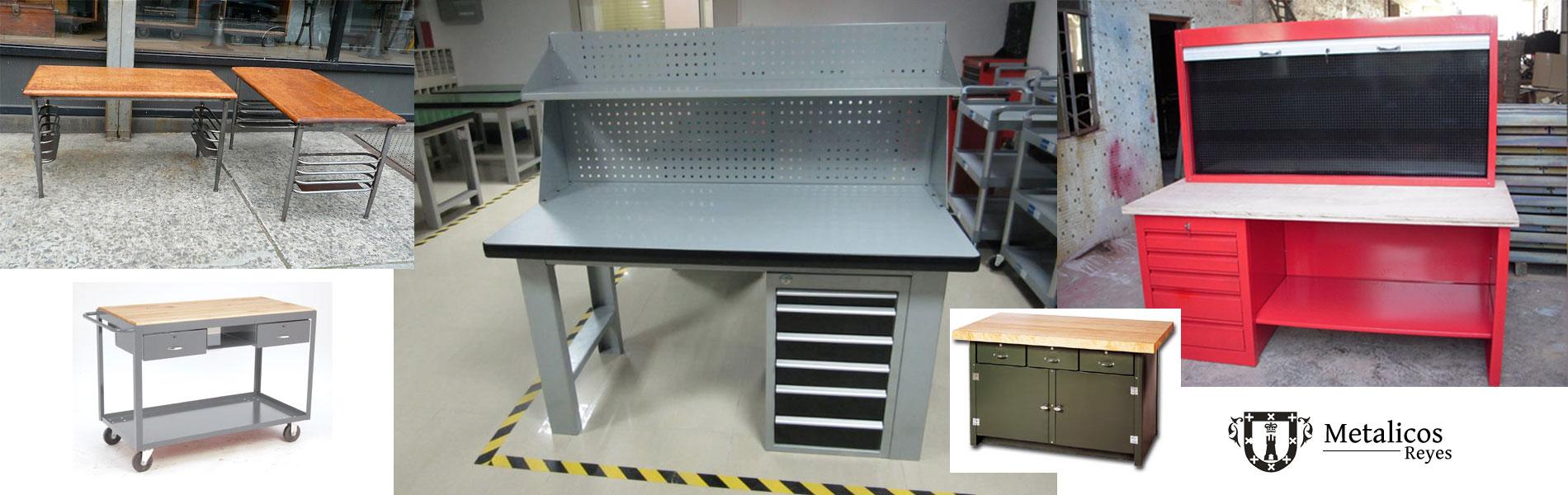 Metalicos reyes fabricantes de muebles de metal para la for Pedestales metalicos para mesas