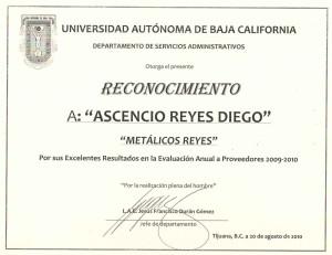reconocimiento UABC